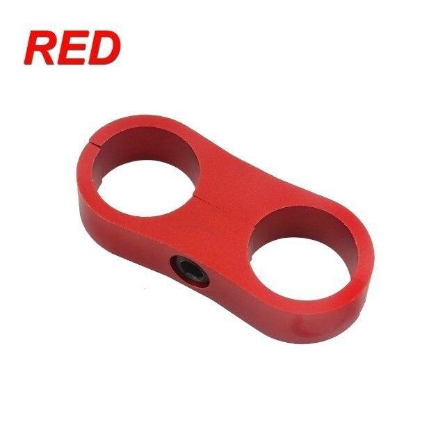 WLR RACING-заготовка Алюминиевый шланг сепаратор линии AN6 ID: 13,5 мм(костюм шланга 200-06) WLR-SLJN01-06-021 - Цвет: Красный