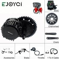 EJOYQI Bafang BBSHD 48V 1000W mid crank drive motor kits 850C C965 SW102 lcd display geared Motor kit eletric bicycle ebike kits