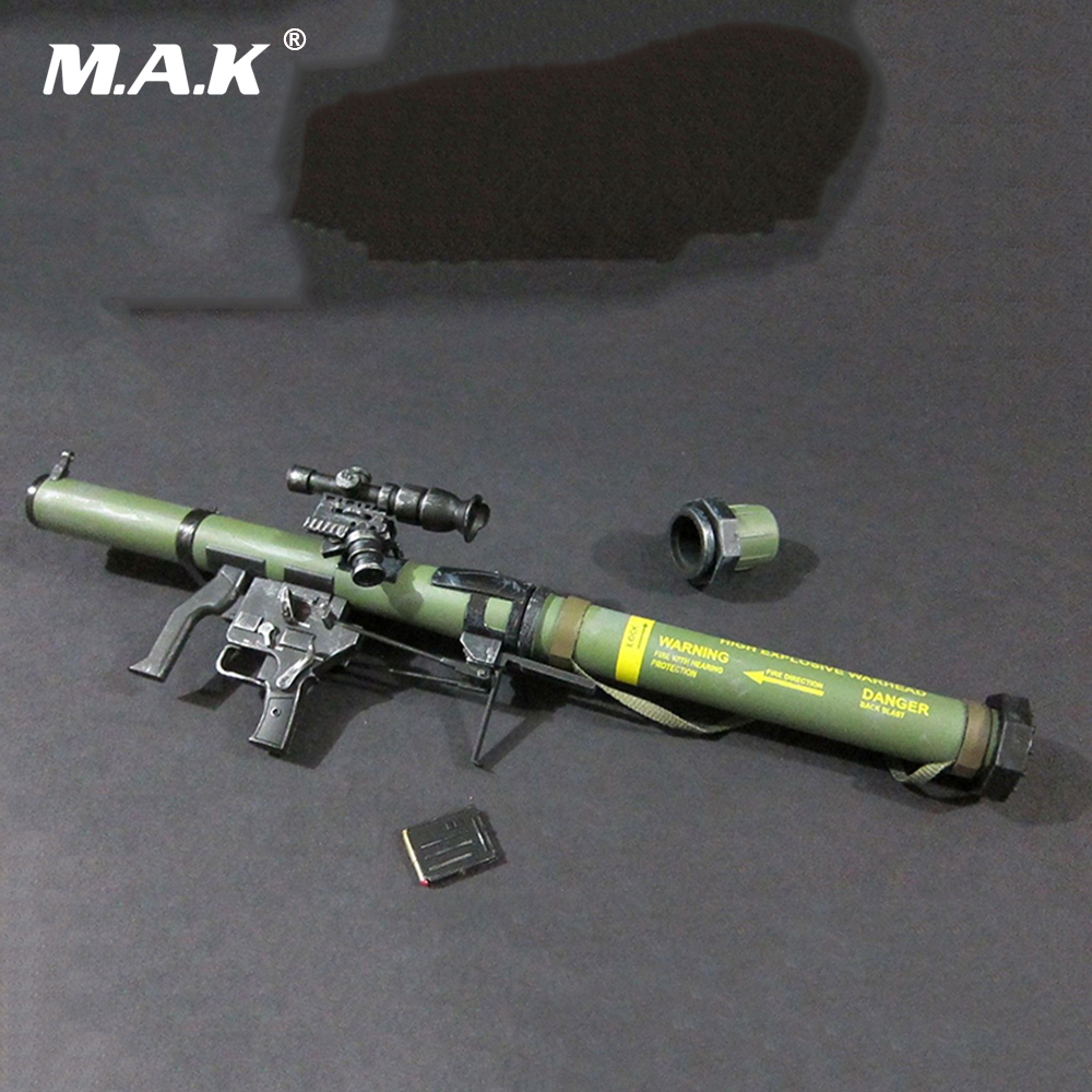 1/6 Scale SMAW MK153 Rocket Launcher Weapon Models Green for 12 Action Figure пальто mango пальто shadow