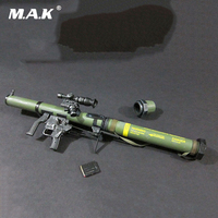 1/6 Scale SMAW MK153 Rocket Launcher Weapon Models Green for 12 Action Figure