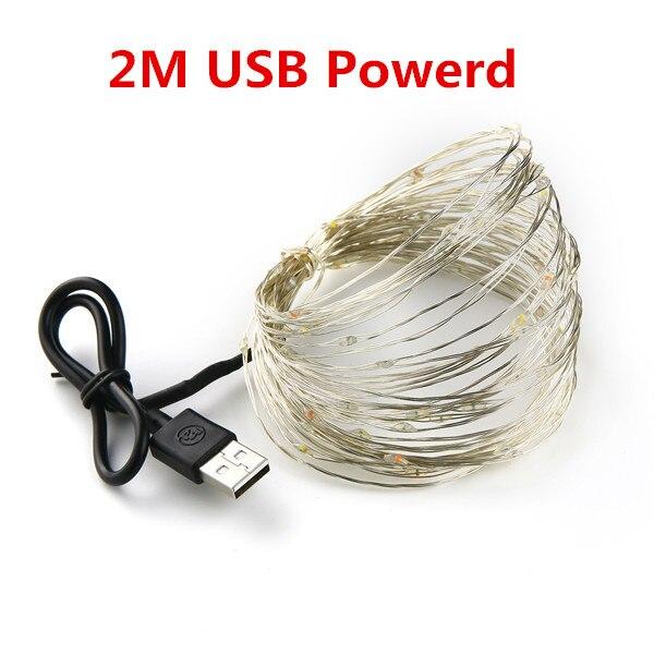 2M 20led USB Powered