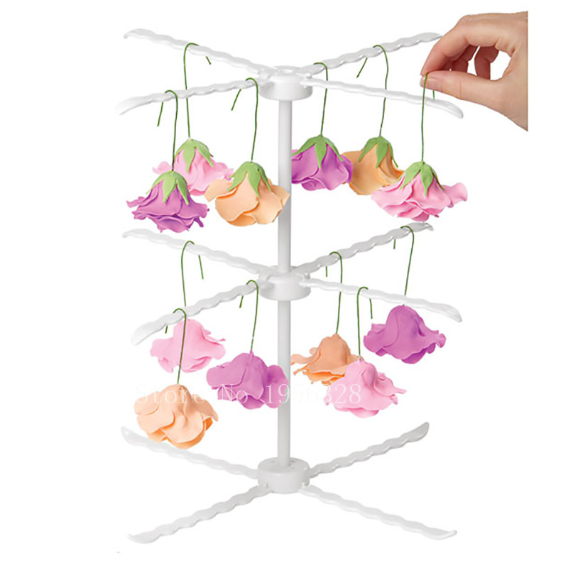 1pc Lot Newest Fondant Cake Flowers Drying Rack Practical