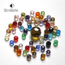 Factory Direct Wholesale 300pcs/Bag AAA2 32Fa Round Crystal Glass Bead 4MM Loose Beads AAA Grade for Jewelry Making 30 Colors