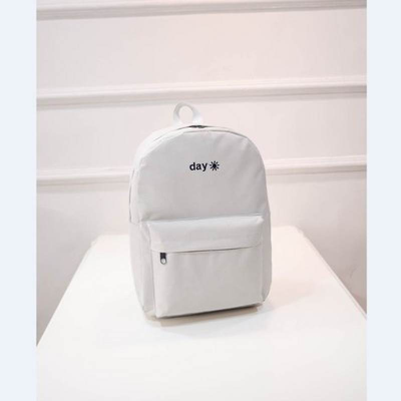 New QE7-14 Women Backpack School Bag for Teenagers College Waterproof Oxford Back packs