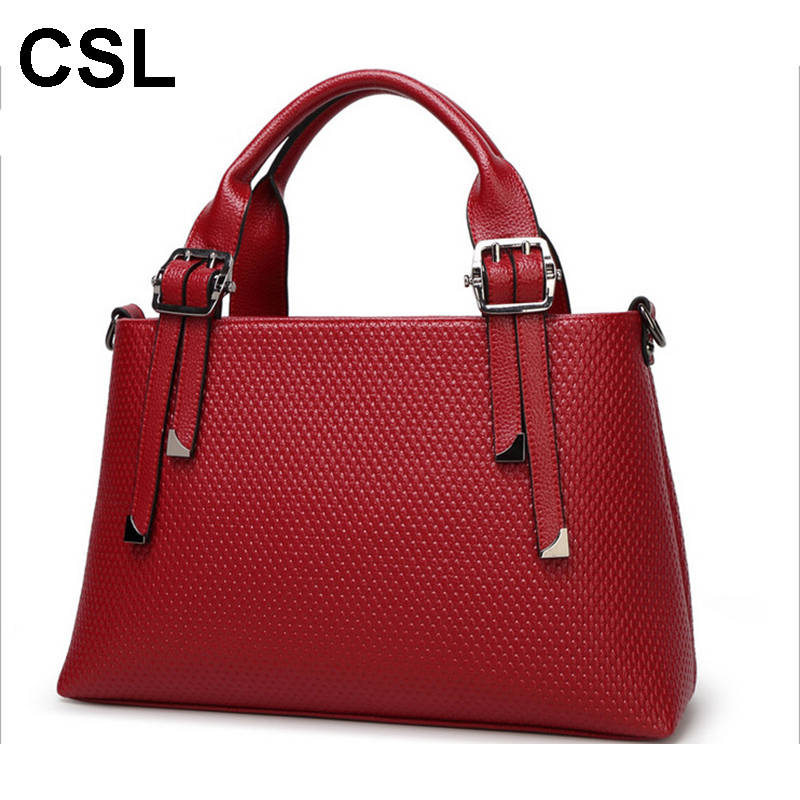 2017 New Women Genuine Leather Cowhide Shoulder Fashion Messenger Bag Vintage Metals Crossbody Bags Lady's Cow Leather HandBag