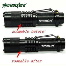 ML Q5 Tactical Zoomable 5000 Lumen LED Flashlight Torch Waterproof Bicycle Cycling Bike light Hiking Camping