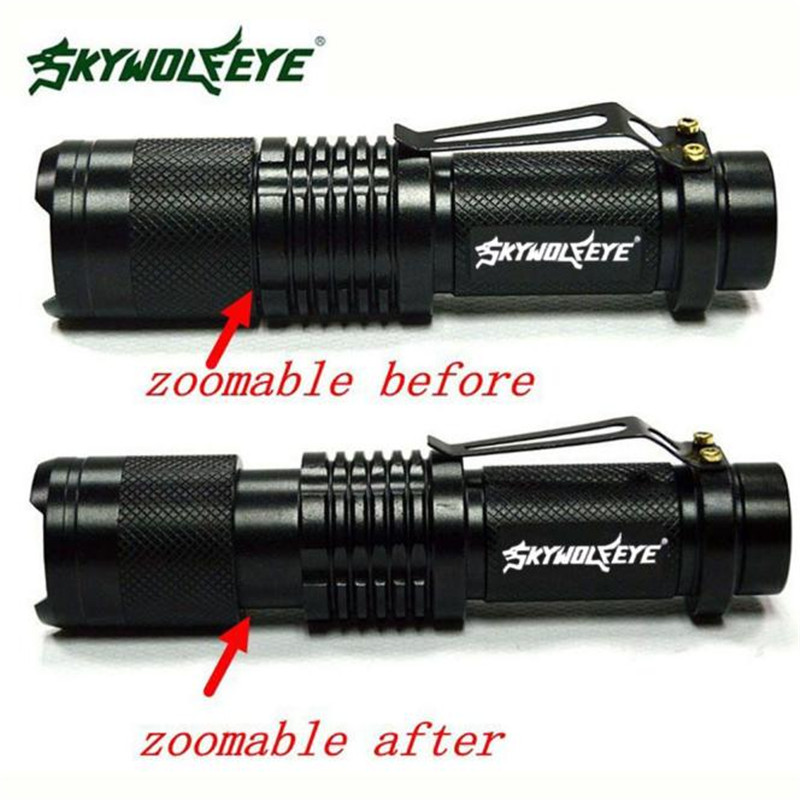 ML Q5 Tactical Zoomable 5000 Lumen LED Flashlight Torch Waterproof font b Bicycle b font Cycling
