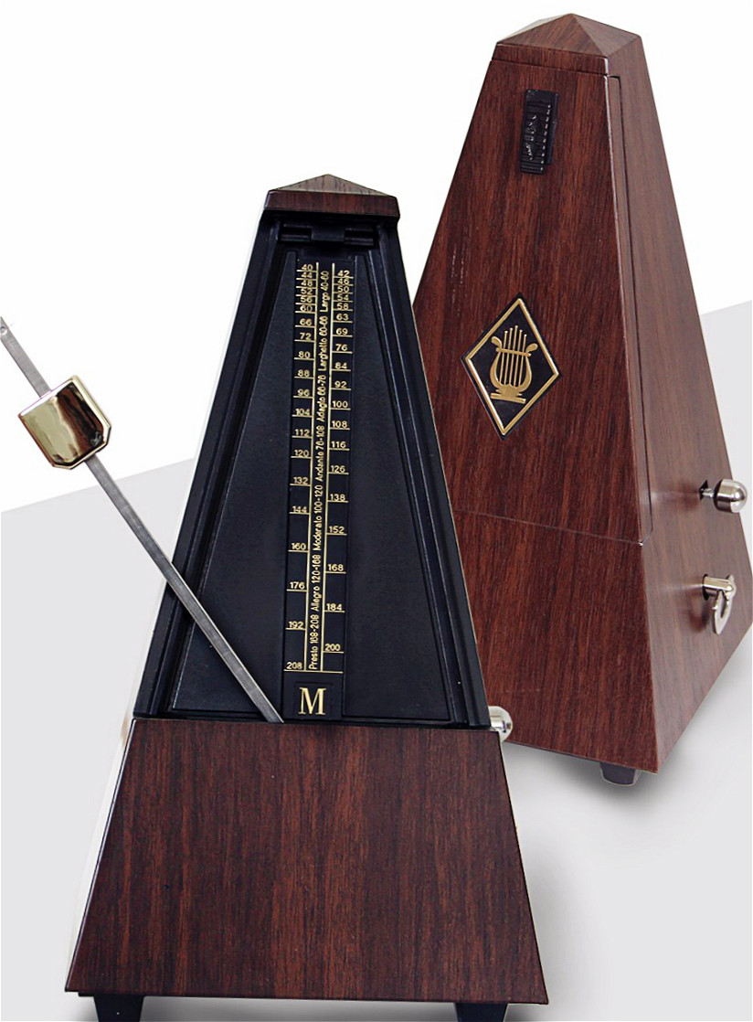 купить High Accuracy Vintage Style  Professional Mechanical Metronome piano guitar violin Rhythm instrument fitting недорого