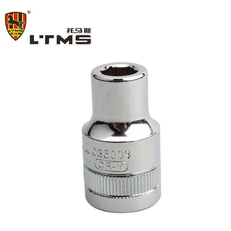 High Quality 9mm Hexagon Magnetic 1/2 Sleeve Hex Socket Head Screwdriver Tapping Drill Chrome Vanadium Steel Connector Rod Head  цены