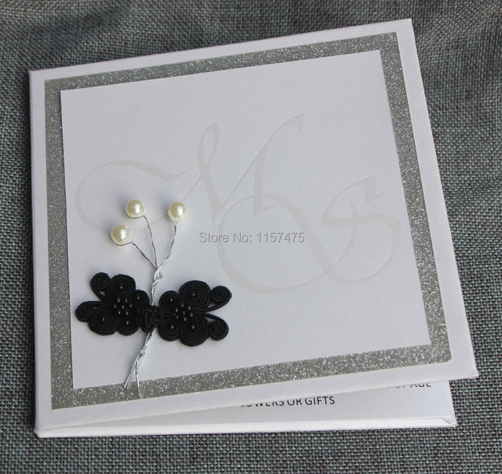 HI1110 Customized Hard Cover Wedding Invitation in High Quality-in ...
