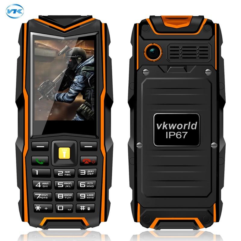 Original VKWorld Stone V3 Mobile Phone Waterproof IP67 Dustproof Dropproof 2 4 inch Dual SIM 5200mAh