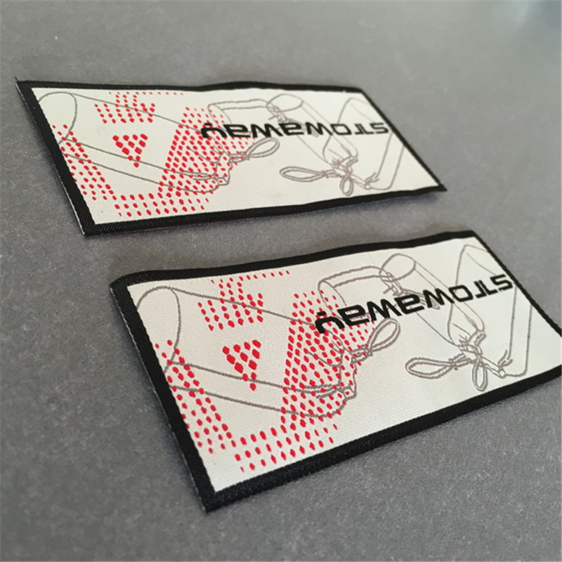 Customized Woven Label Garment Labels for Clothing in Garment Labels from Home Garden
