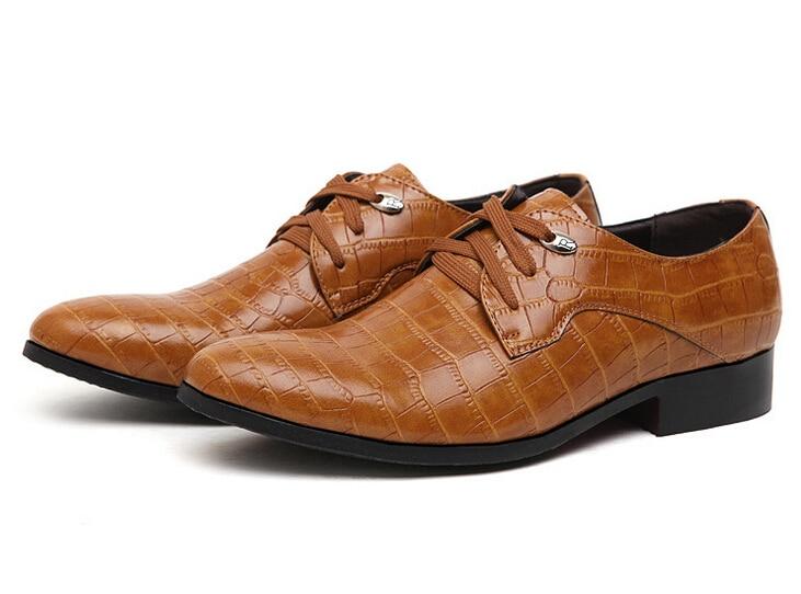 unique design sneakers half off Leather Shoes Brown Colour