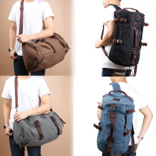 Classic Backpack Fashion For Women Shoulder Bag Men's Canvas Backpack Multi-Color Leisure Travel Bag Unisex Backpack   B