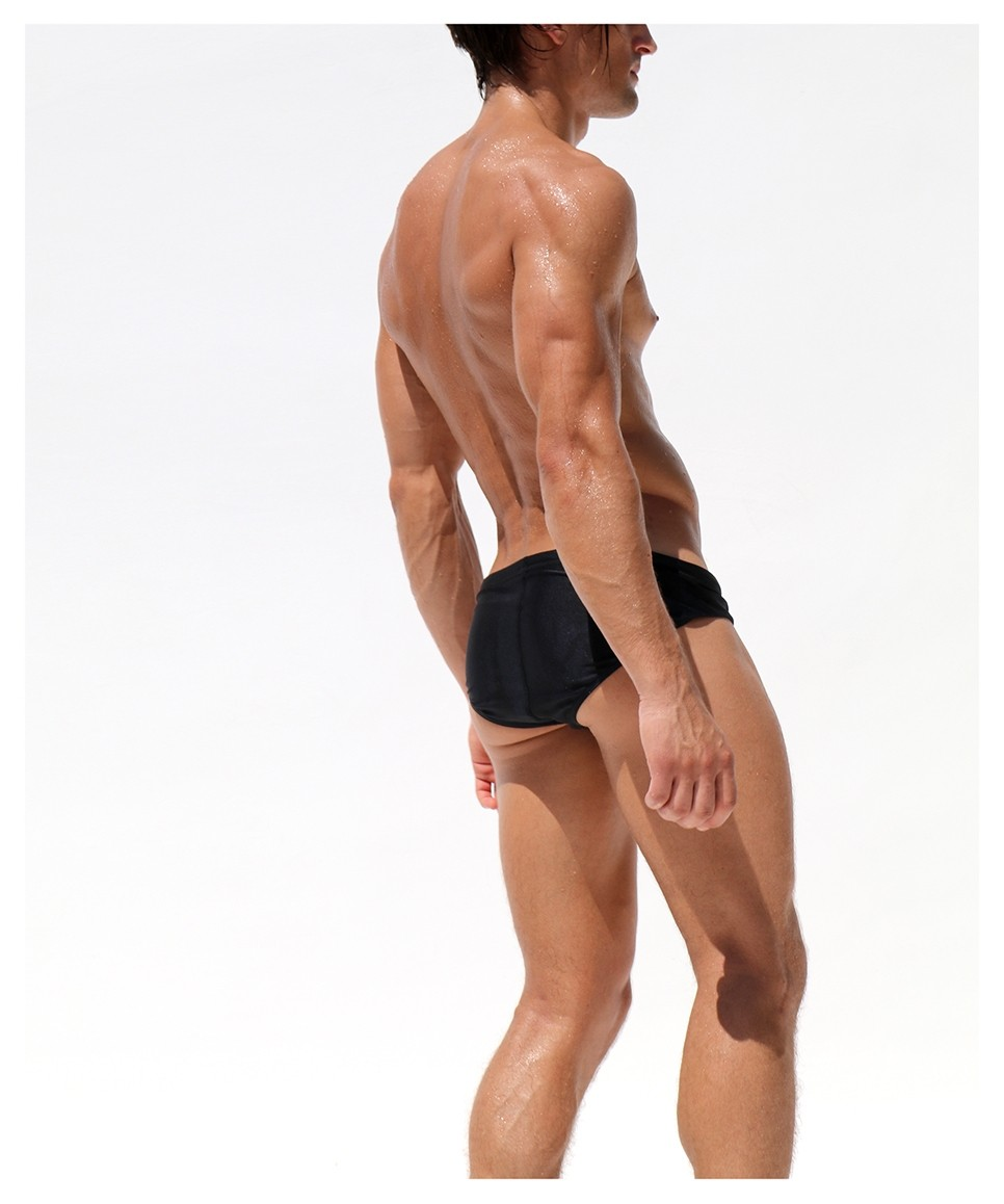 Topdudes.com - Men's Sexy Low Waist Summer Beach Swimming Briefs