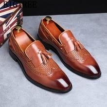 Модельные туфли; Мужские Элегантные лоферы; мужские свадебные туфли; брендовая модельная обувь; мужские классические слипоны; sepatu; pria chaussure homme