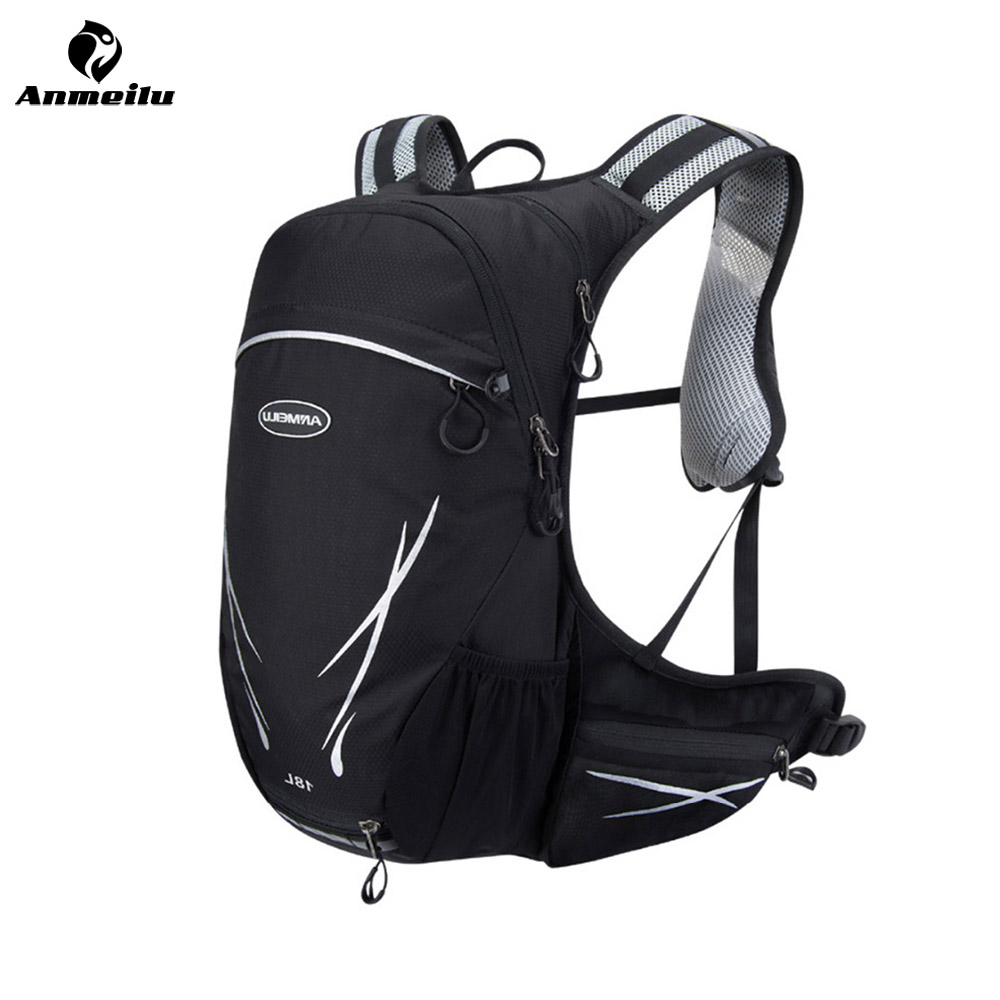 ANMEILU Outdoor Backpack Cycling Backpack Unisex Waterproof Ultraligh Reflective Sport Bag MTB Nylon Bags Travel Camping
