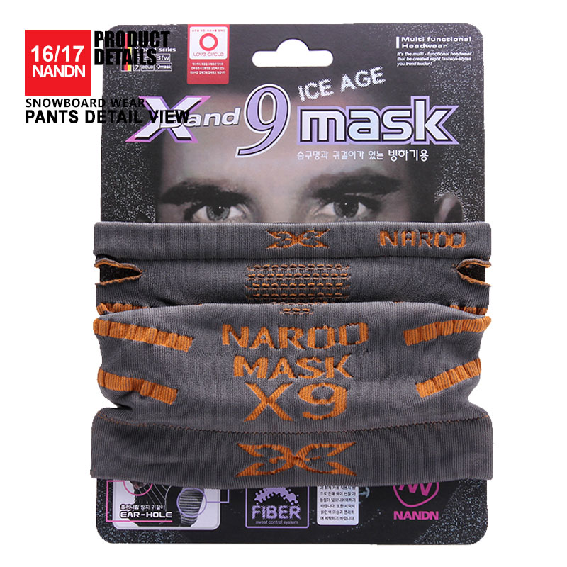 Outdoor Ski Snowboard Warmer Sport Full Face Mask Maska narciarska