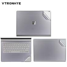 Наклейка для ноутбука Surface Book 2 13,5 дюймов, Виниловая наклейка, твердая задняя крышка, наклейка для Surface Book 2 15 дюймов, Capa Para