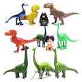 12pcs/lot The Good Dinosaur Action Figure Toy 3 - 7cm PVC Cartoon Figure Toys For Children Anime Brinqudoes