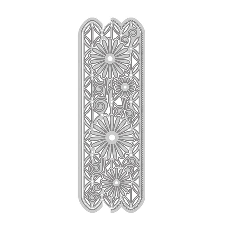 YaMinSanNiO Daisy Flower Metal Cutting Dies New 2019 Craft Frame Dies Scrapbooking Album Embossing Paper Cards Crafts Die Cuts in Cutting Dies from Home Garden