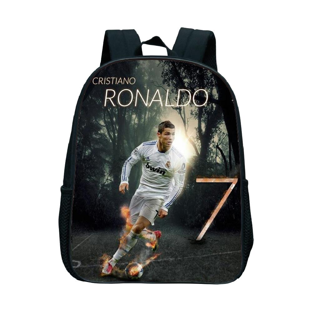 Backpacks Responsible Children School Backpack Cristiano Ronaldo Cr7 Baby Kids Toys Bookbag Toddler Girls Boys Kindergarten Cartoon School Bags We Take Customers As Our Gods