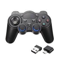 Новый 2.4 ГГц Беспроводной Геймпад Регулятор Игры Джойстик Для Android TV Box PC GPD XD Новый ж/OTG Конвертер Компьютерных Игр контроллеры