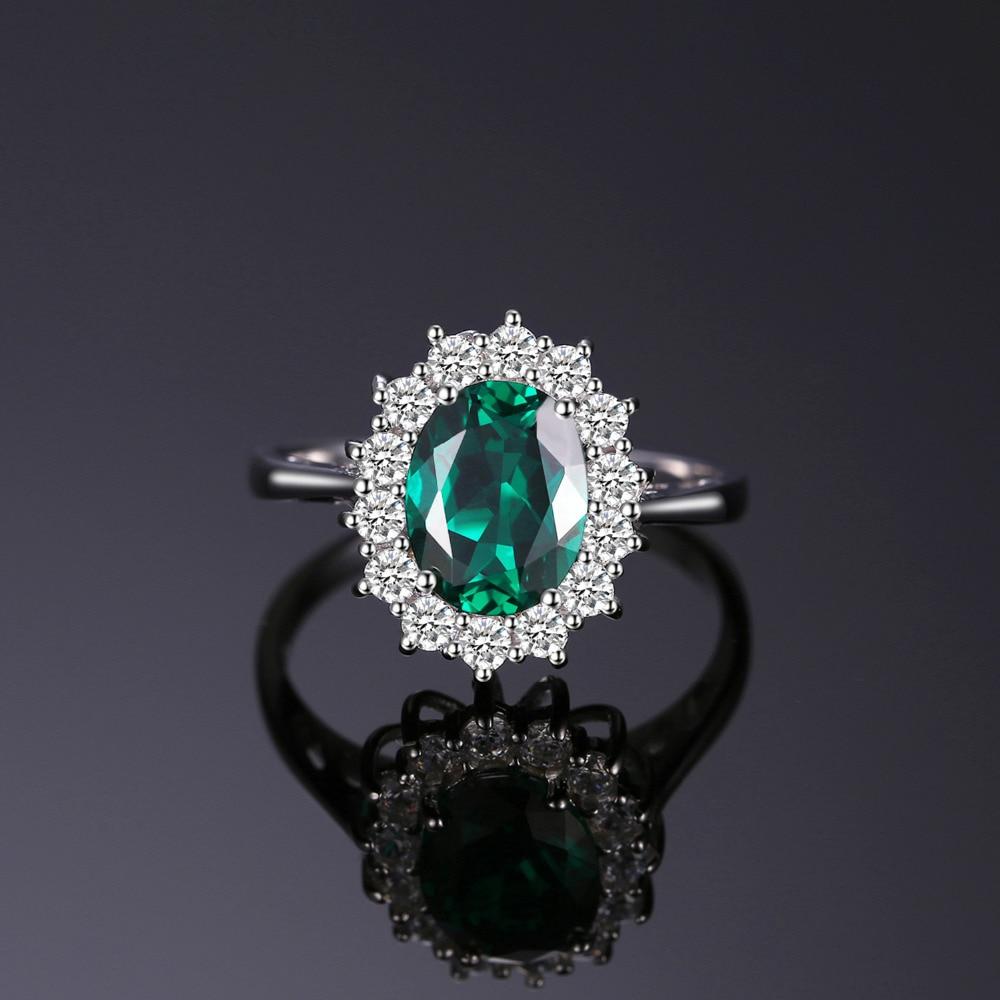 Jewelrypalace Princess Diana Qadınlar üçün İncə 925 Sterling - Gözəl zərgərlik - Fotoqrafiya 2
