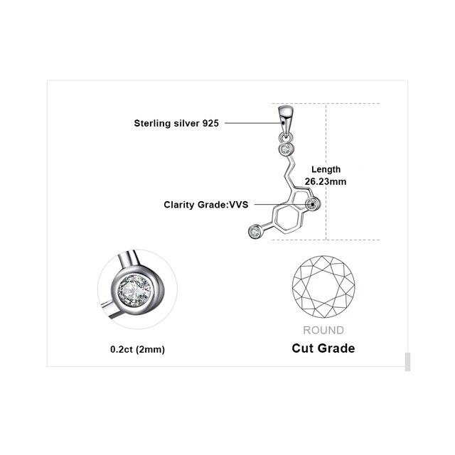 0.2ct Cubic Zirconia Pendants  4