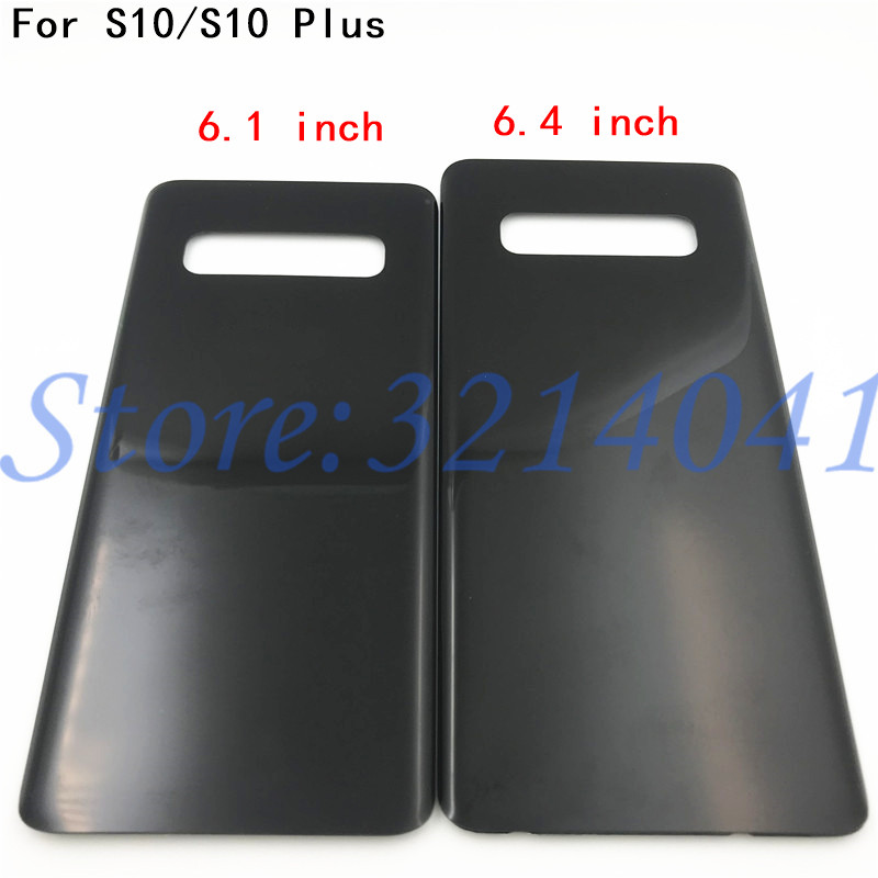 New Back Glass Replacement For Samsung Galaxy S10e 5.8/ S10 6.1 /S10 Plus S10+ 6.4 Battery Cover Rear Door Housing Case+LogoNew Back Glass Replacement For Samsung Galaxy S10e 5.8/ S10 6.1 /S10 Plus S10+ 6.4 Battery Cover Rear Door Housing Case+Logo