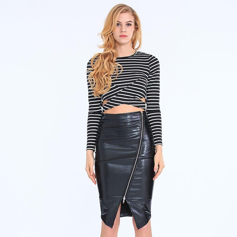 Leather Skirt Women