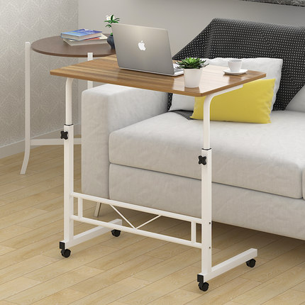 Jane desktop laptop desk bed minimalist bedside table for Table up and down but
