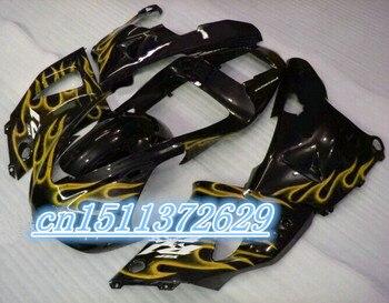 Juego de carenados Bo para 1998 1999 YZF-R1 YZF R1 98 99 kit de carenado para amarillo y negro