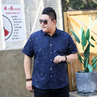 10XL 9XL 8XL 2018 PLUS SIZE Mens Hawaiian Shirt Male Casual camisa masculina Printed Beach Shirts Short Sleeve brand clothing