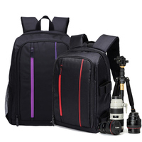 Waterproof Multi functional Camera Backpack Cover Video Digital DSLR Bag Outdoor Camera Photo Bag Case for Nikon/ for Canon/DSLR
