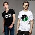 Oasis BRITPOP banda de música camiseta de algodón para hombres Casual camiseta del o-cuello del verano de gran bretaña Rock alternativo camiseta de moda