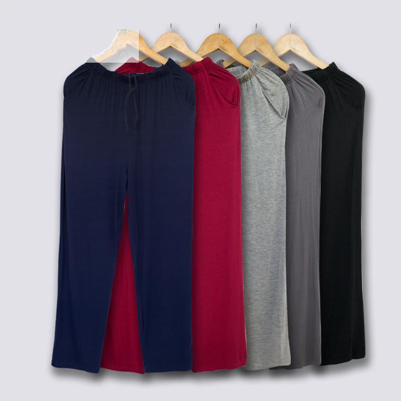 Men's Home Trousers Thin Autumn Modal Loose Comfort Casual Home Pants Underwear Man Pajama Pants
