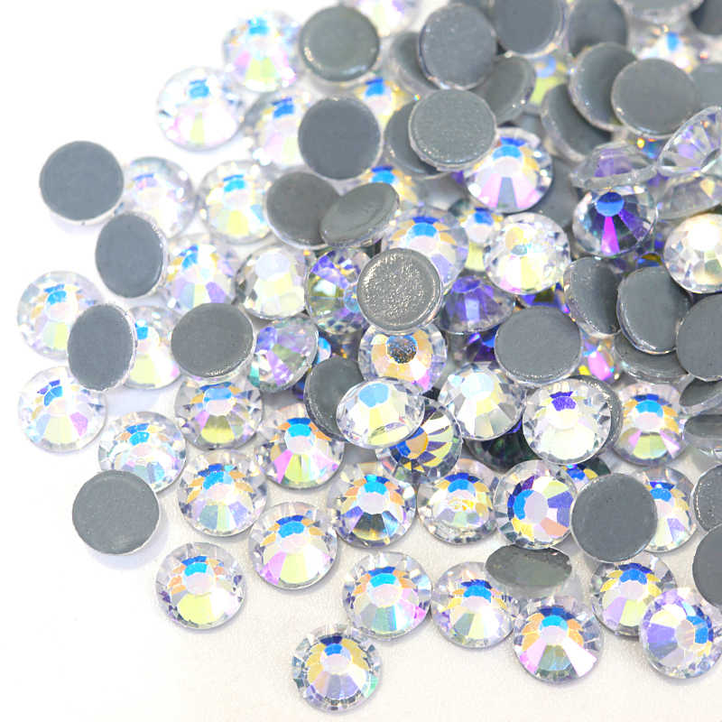 2028 SS4-SS30 Crystal Moonlight Hot Fix Rhinestones Iron On Hotfix Strass  Iron on Fabric 2343e0aad902