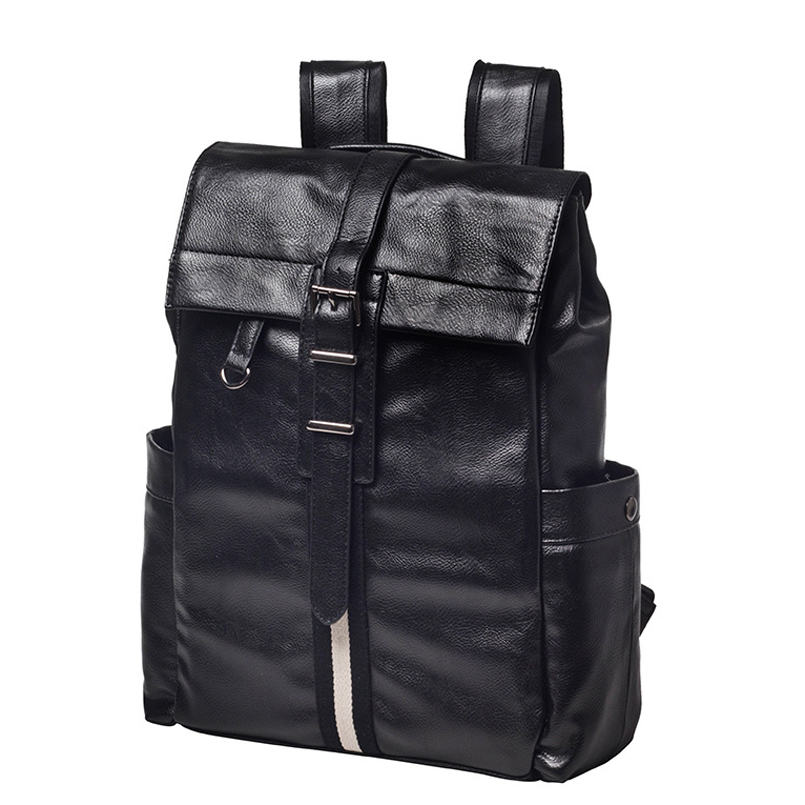New Arrival 2017 Male Functional bags Fashion Men backpack PU Leather backpack big capacity Men bags weibin male functional bags fashion men backpack big capacity pu leather men school backpacks for boys business travel mochila