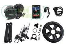 Gratis envio bbs01 rower elektryczny 48 v 350 w bafang 8fun połowie napęd zestawy zestaw e-rower z colorida 850c pantalla lcd