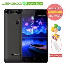LEAGOO KIICAA GÜÇ 4000 mAh 3G Cep Telefonu Android7.0 2 GB + 16 GB Dört Çekirdekli Smartphone 8MP Çift arka Kamera 720 P 5.0 inç...