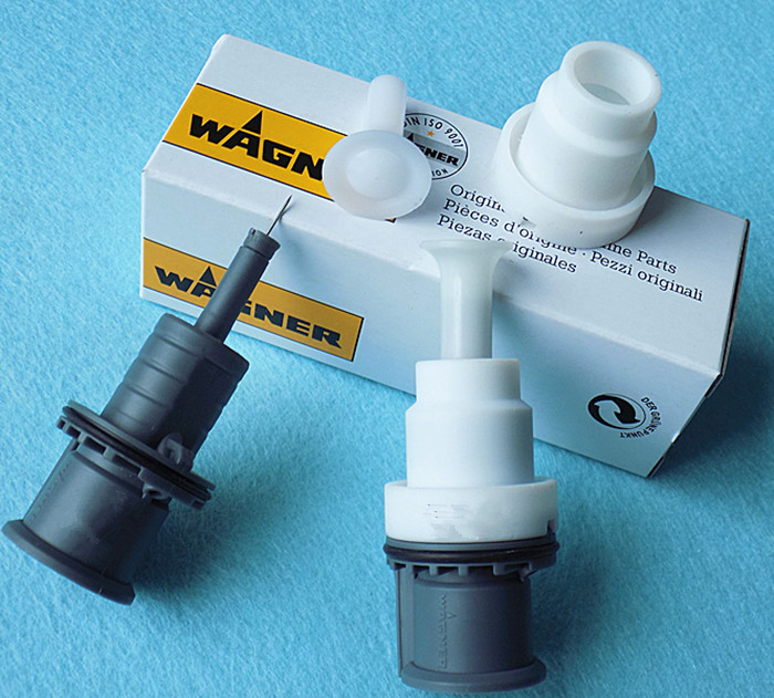 Manual Electrostatic Powder Coating Spray Paint Gun Nozzle Gun Holder For Wagner C4
