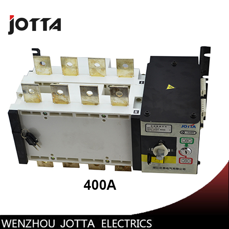 PC grade 400amp 220V/ 230V/380V/440V 4 pole 3 phase automatic transfer switch ats 400 amp 3 pole cm1 type moulded case type circuit breaker mccb