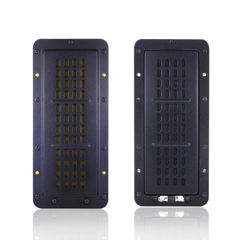 2PCS/Lot Sounderlink Aluminum Planar Transducer Amt Ribbon Tweeter Set For DIY Monitor HiFi Audio Ceiling Broadcast Home Theater
