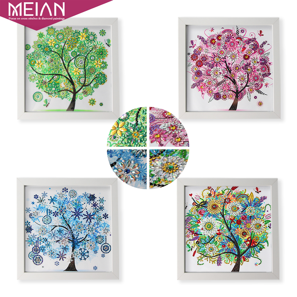 2020 Special Shaped Diamond Painting DIY 5D Partial Drill Cross Stitch Kits Gift