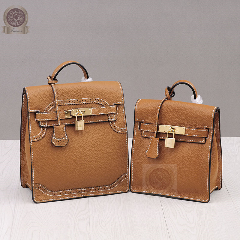 Genuine leather famous luxury designer backpack Herbag A do shoulder and hand bags in Tago naked and famous naked and famous in rolling waves 2 lp
