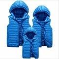 Colete de inverno das mulheres 2016 olhar família mãe e filha combinando roupas meninas casual clothing outfits pai filho casaco feminino