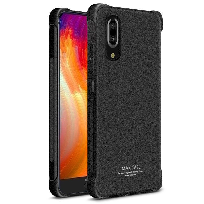 buy online 5744e 5fe22 US $6.64 5% OFF|Imak Case Airbag Cover Shockproof Back Cover for SHARP  AQUOS S2 Case Soft Silicone Cover Case for SHARP S2 TPU Back Cover-in  Fitted ...