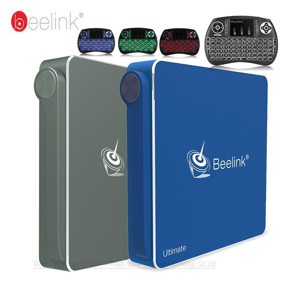 Beelink AP34 Mini PC Intel Pentium N3450 CPU Quad Core Windows 10 8G DDR3 64G Smart TV Box 2.4G 5.8G WiFi BT4.0 Set-top Box