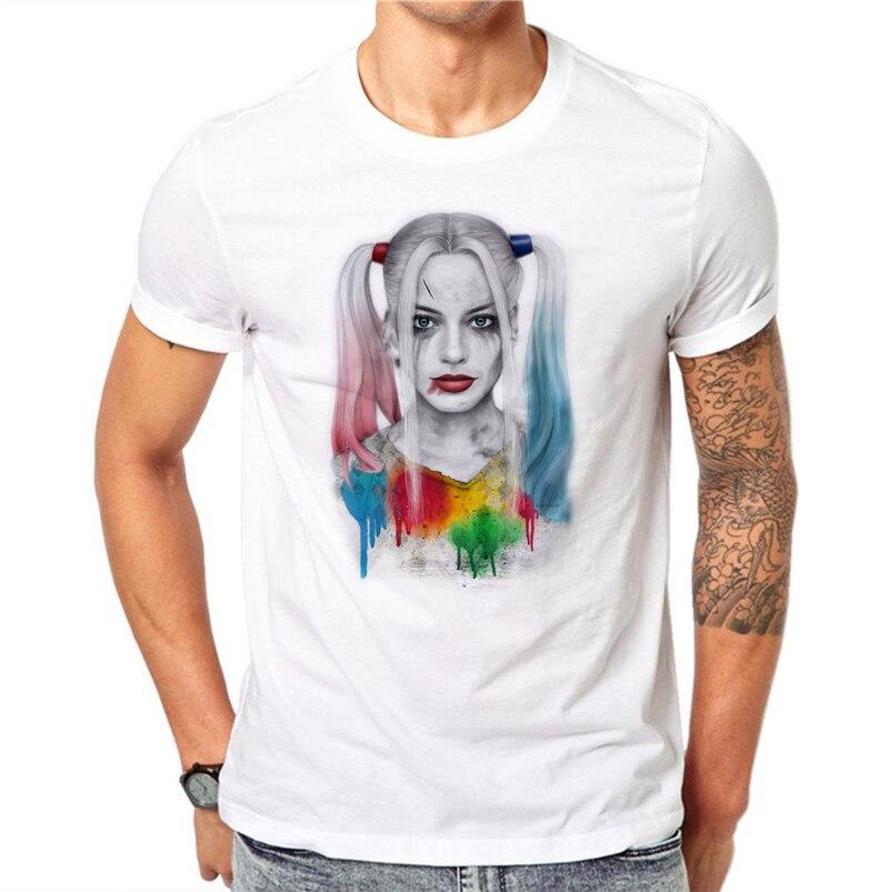 Harley Quinn T shirt Artwork